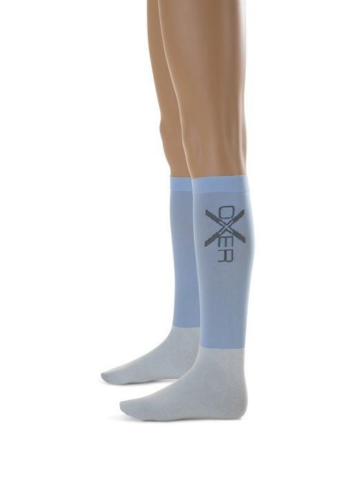 Oxer sokken Lichtblauw