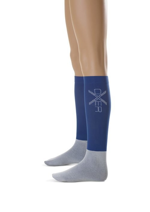 Oxer sokken Marineblauw