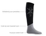 Oxer sokken Antraciet_