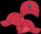 Baseball Cap petje HV Polo Pim rood_