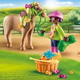 Playmobil Meisje met pony_