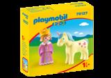 1.2.3. Playmobil Princes met eenhoorn_
