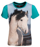 Red Horse T-shirt Horsy_