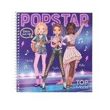 TOPModel Dress Me Up stickerboek POPSTAR_