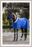 HB Dutch Crown Showdeken Royal Blue_