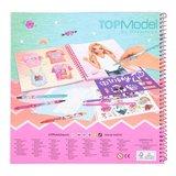 TOPModel T-shirt Designer kleurboek_