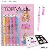 TOPModel kleurboek met viltstiften CANDY CAKE_