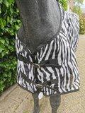Zebra vliegendeken afneembare hals PR21_