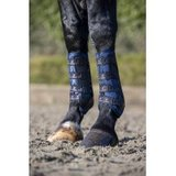LeMieux Ultramesh Snug Boots Front Navy_