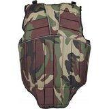 Bodyprotector Horka Junior Camouflage groen_