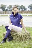Bodywarmer Covalliero Ariana Blauw_