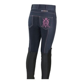 Paardrijbroek Horze Denim Junior