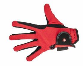 Handschoenen HKM Professionel rood