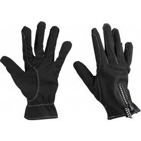 Handschoenen Glitter zwart