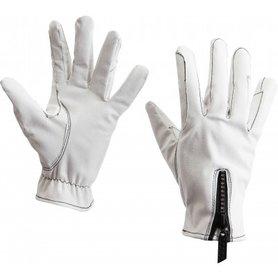 Handschoenen Glitter wit
