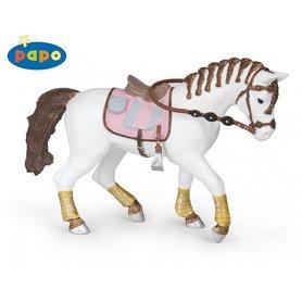 """Papo beeldje """"gevlochten pony"""""""