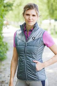 Gewatteerde bodywarmer Chloe Grijs