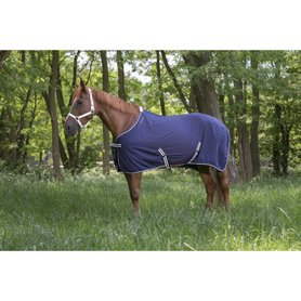 Zomerdeken Equitheme Light Navy
