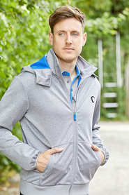 Heren softshell jas Tylor grijs