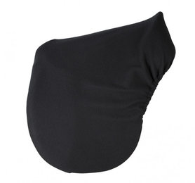 Zadelhoes zwart fleece