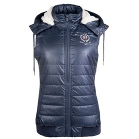 Bodywarmer Ashley blauw