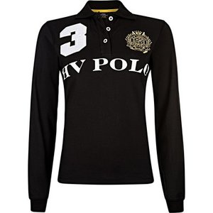 HV Polo Favouritas long sleeve Black