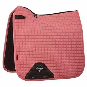 LeMieux Luxury Dressage Suede squares: Pink Blush