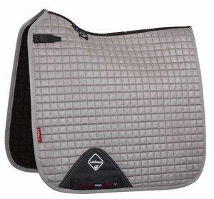 LeMieux Luxury Dressage Suede squares: Grey