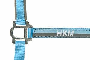 Halster + touw HKM Blauw-zilver