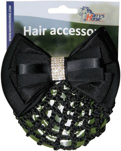 Haarclip HH zwart strass