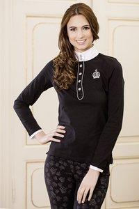 Shirt Gloockler Silver Crown zwart