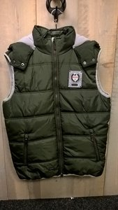 Bodywarmer Kingston Olijfgroen