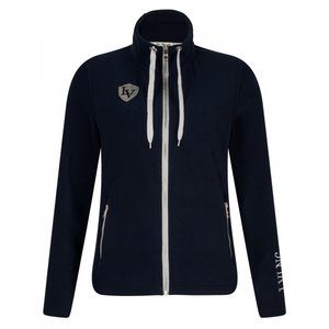 La Valencio Fleece vest Jet Navy