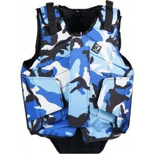 Bodyprotector Horka Junior Camouflage blauw