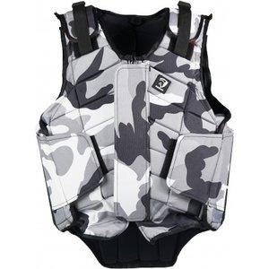 Bodyprotector Horka Junior Camouflage grijs