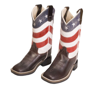 Westernlaarzen Old West American Flag Child