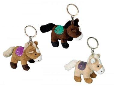 Sleutelhanger pluche paard