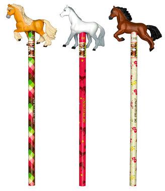Potlood met paard