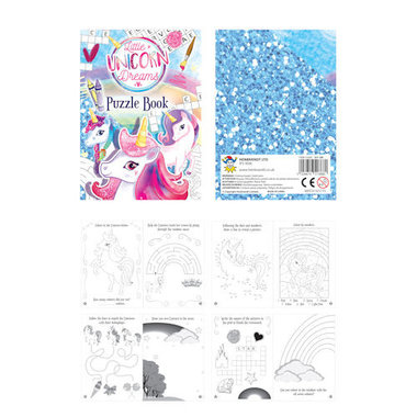 Unicorn Puzzelboek