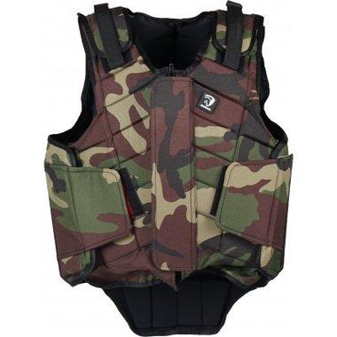 Bodyprotector Horka Adult Camouflage groen