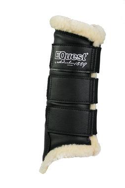 Peesbeschermers Equest Soft Zwart-beige