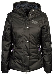 2-in-1 winterjas Redhill Zwart