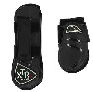 Peesbeschermers + strijklappen XTR Zwart