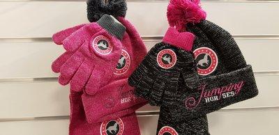 Kinderset: Sjaal Muts Handschoenen
