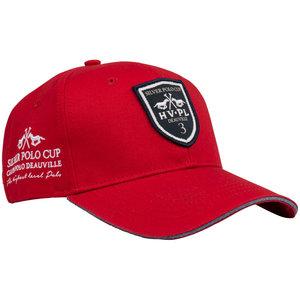 Baseball Cap petje HV Polo Pim rood