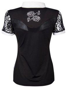 Wedstrijdshirt Lace zwart