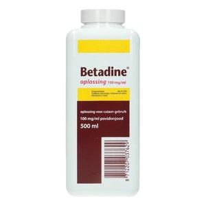 Betadine oplossing 500ml