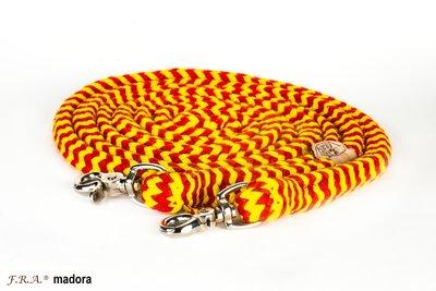 FRA Madora gevlochten teugel