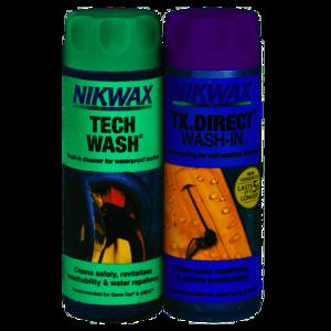 Nikwax Twin pack Tech Wash / TX Direct Wash In