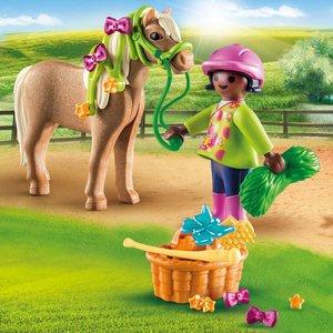 Playmobil Meisje met pony